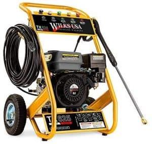 Wilks Genuine USA TX625 Petrol Pressure Washer