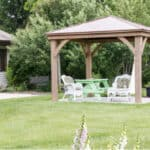 In this guide, we compared over 20 hardtop gazebos for all year round use from polycarbonate to wooden and aluminium designs. See the best hardtop gazebos now.
