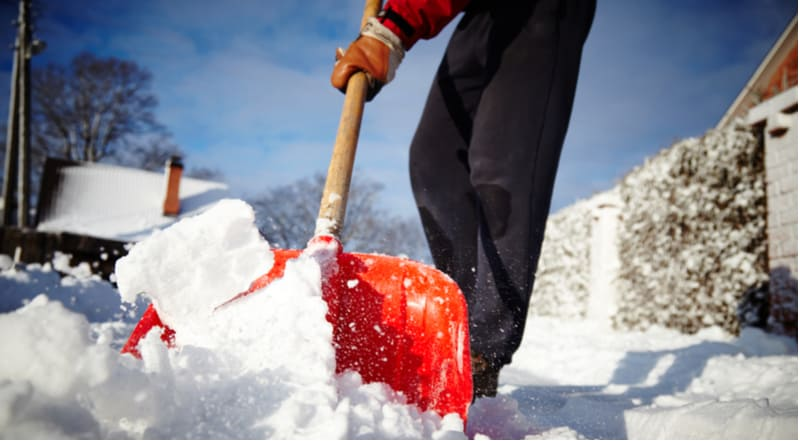 Best snow shovel and pushers
