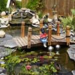 Best garden bridges made from wood and metal