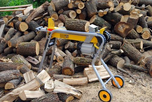 Log splitter splitting length