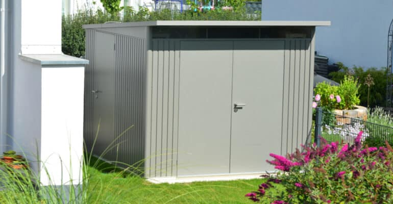 how to buy the best metal shed and which models are the most secure