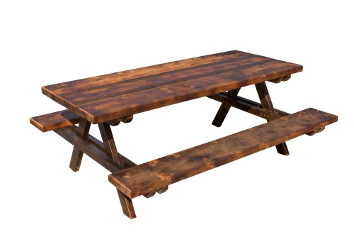 Garden picnic bench made from quality pressure treated timber