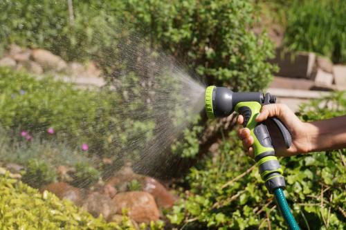 Different hose spray patterns