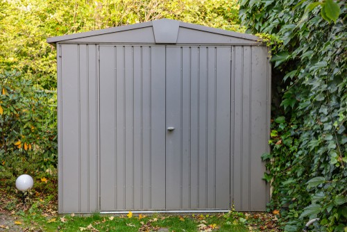 secure metal shed