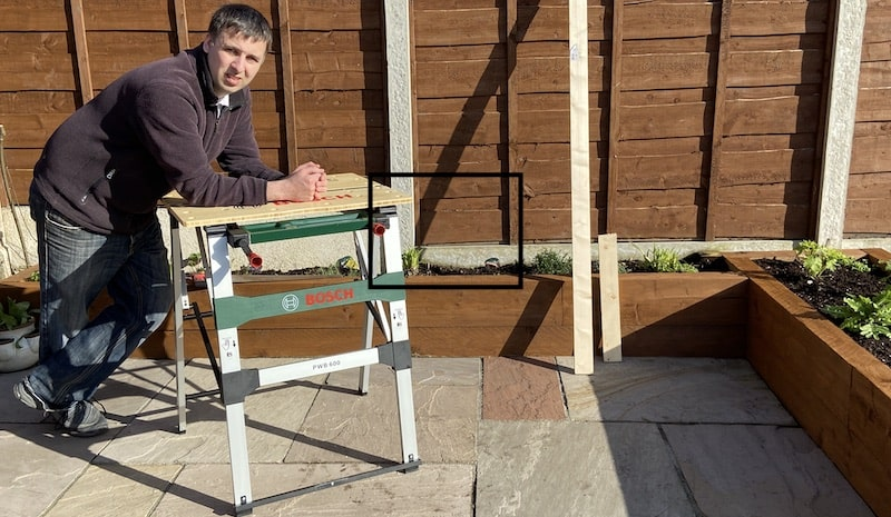 My review of the Bosch PWB 600 Portable Work Bench after using it for 12 months, possibly the best workbench I have ever had. Read the review to learn why.