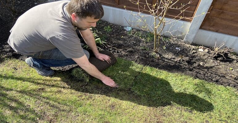 How to extend your lawn step by step. Instructions