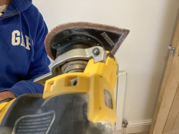 Cheap attach I purchased for my DeWalt DWE315KT Oscillating Multi-Tool which was compatible