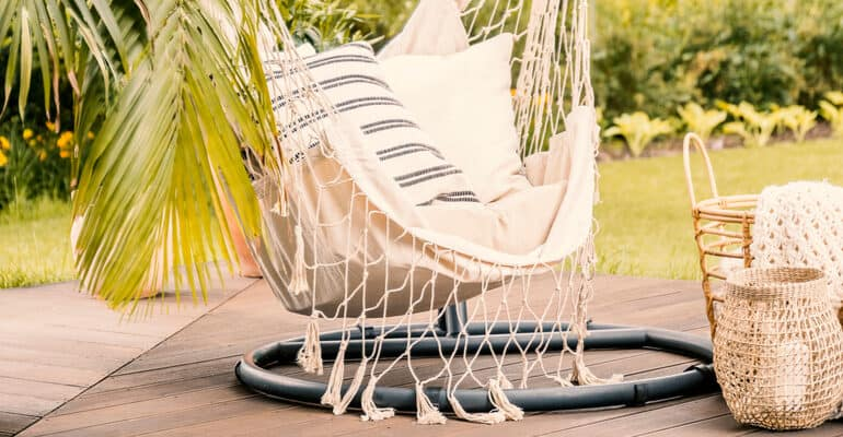 The best outdoor hanging hammock chairs for your garden and patio areas