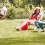 Best Garden Deck Chair Review and testing to see which are light weight, comfortable and easy to fold down