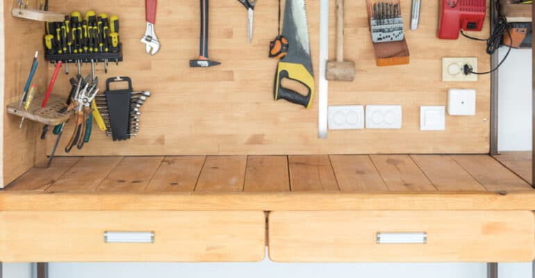 If you're looking to buy the best garage workbench then you probably need a durable, heavy-duty model. I have compared some of the best wood and steel models in this review