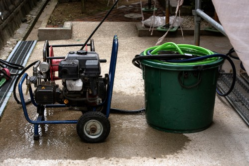 Petrol Pressure washer for professional use