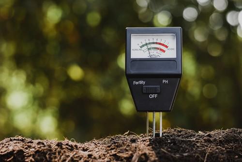 Soil ph tester used to test the soil Ph level