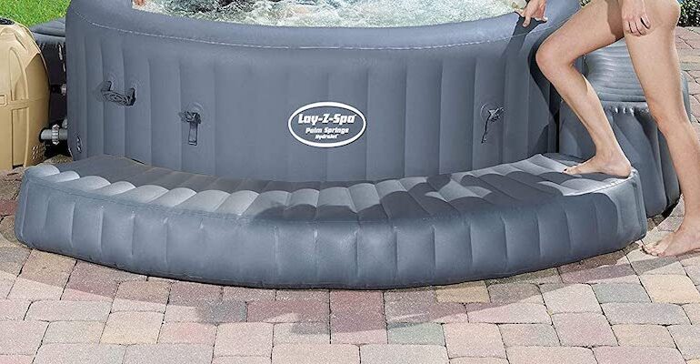 I decided I needed to find the best inflatable hot tub surround so I compared promising models to see how they compared. Read the review to see which models to consider